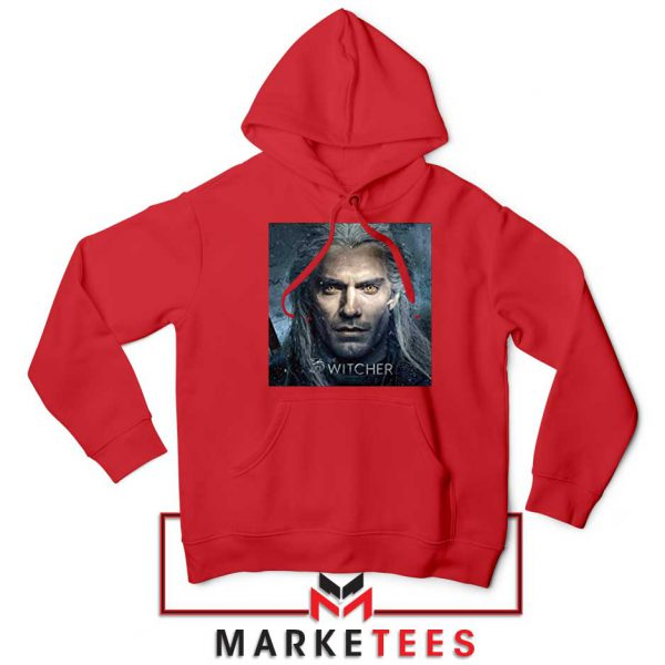 Actor Henry Cavill Red Hoodie