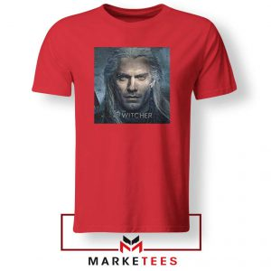 Actor Henry Cavill Red Tshirt