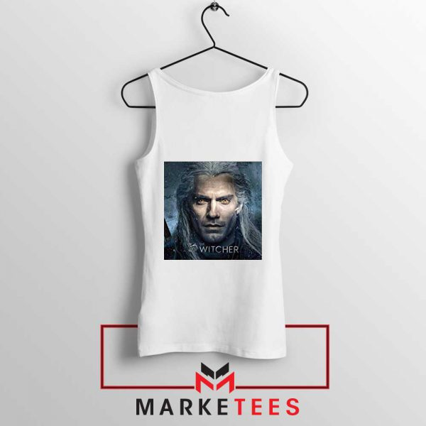 Actor Henry Cavill White Tank Top