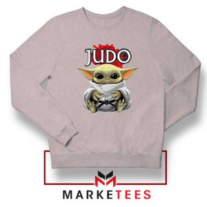 Baby Yoda Judo Grey Sweater