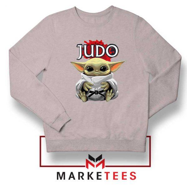Baby Yoda Judo Grey Sweater
