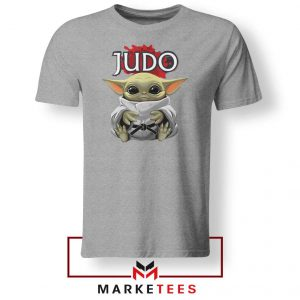 Baby Yoda Judo Grey Tshirt