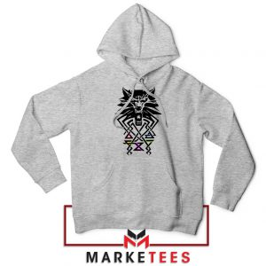 Bear School Witcher Grey Hoodie
