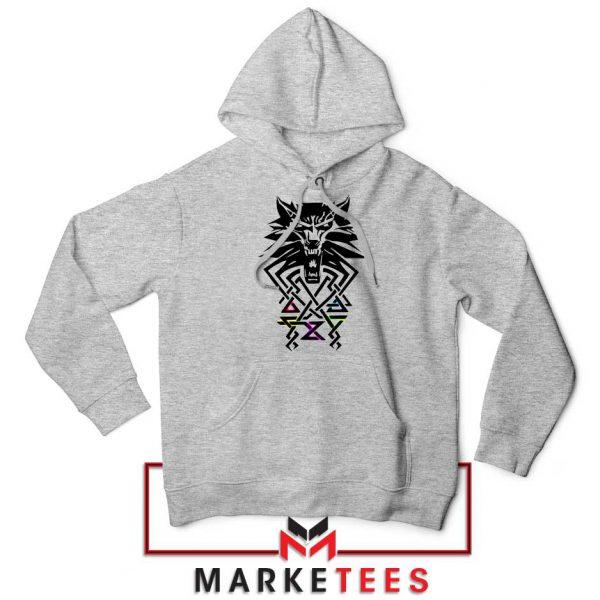 Bear School Witcher Grey Hoodie