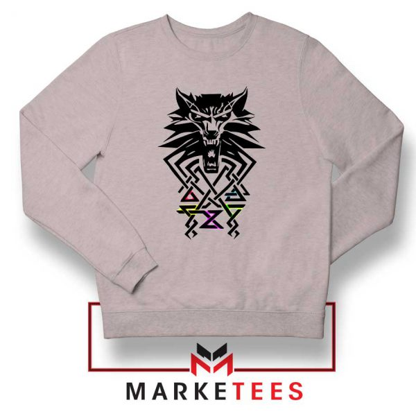 Bear School Witcher Grey Sweater