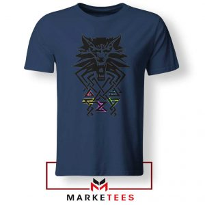 Bear School Witcher Navy Tee Shirt