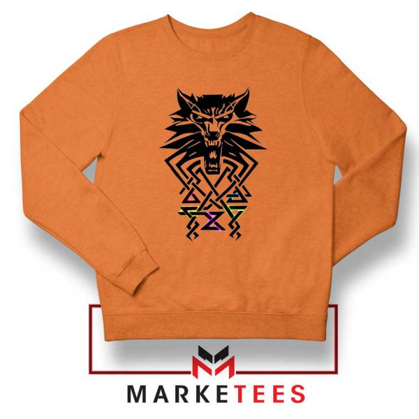 Bear School Witcher Orange Sweater