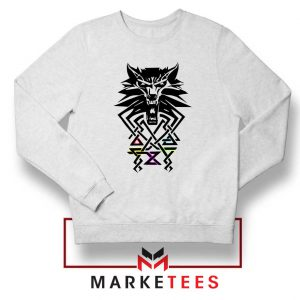 Bear School Witcher White Sweater