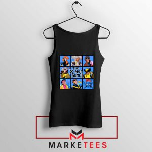 Bunch X Men Black Tank Top