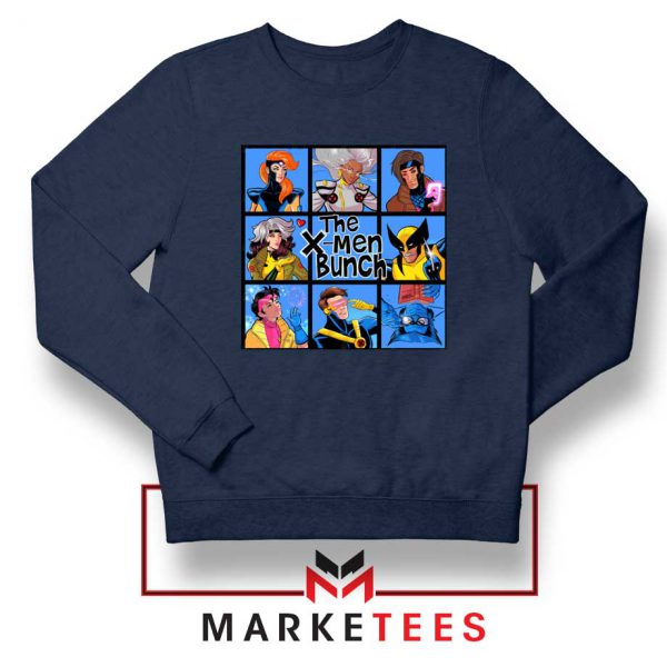 Bunch X Men Navy Sweatshirt