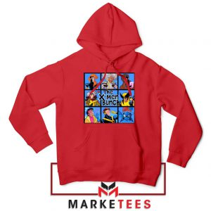 Bunch X Men Red Hoodie