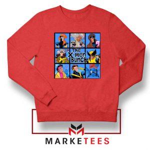 Bunch X Men Red Sweatshirt