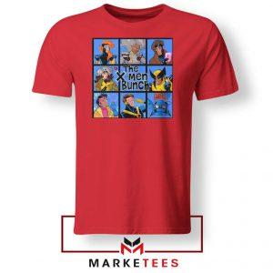 Bunch X Men Red Tee Shirt