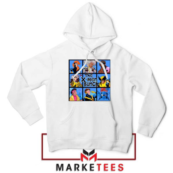 Bunch X Men White Hoodie