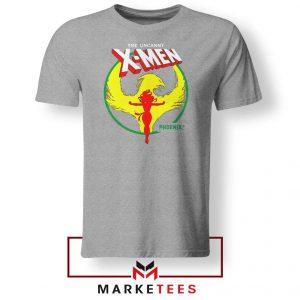 Circle Dark Phoenix Grey Tshirt