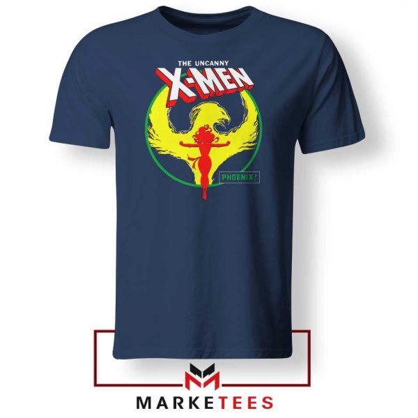Circle Dark Phoenix NAvy Tshirt