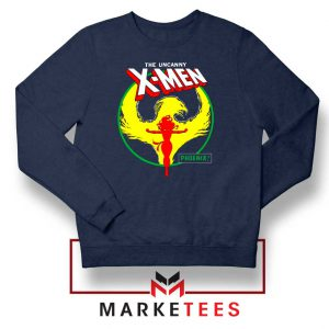 Circle Dark Phoenix Navy Sweater