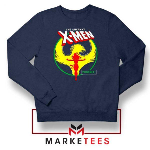 Circle Dark Phoenix Navy Sweater