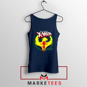 Circle Dark Phoenix Navy Tank Top