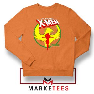 Circle Dark Phoenix Orange Sweater