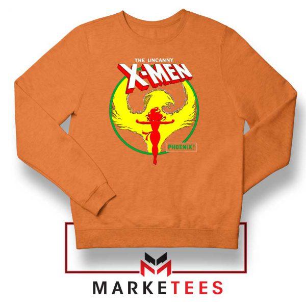 Circle Dark Phoenix Orange Sweater