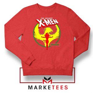 Circle Dark Phoenix Red Sweater