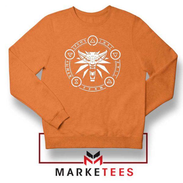 Circle of Elements Orange Sweater