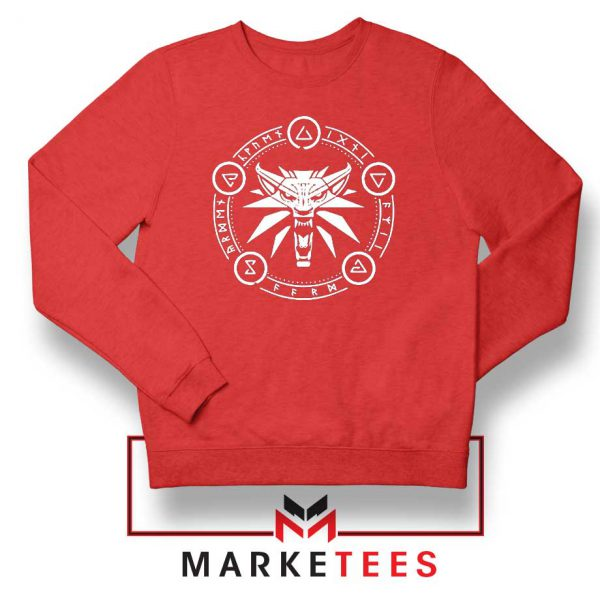 Circle of Elements Red Sweater