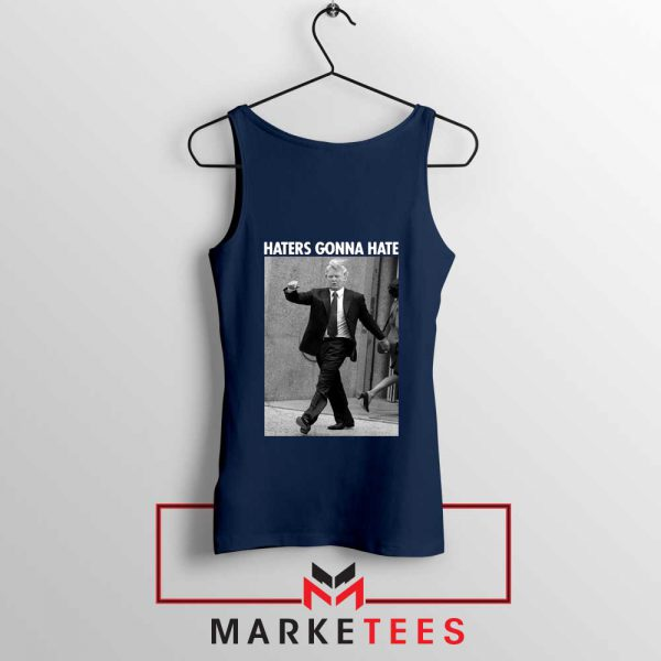Donald Trump Haters Gonna Hate Navy Tank Top