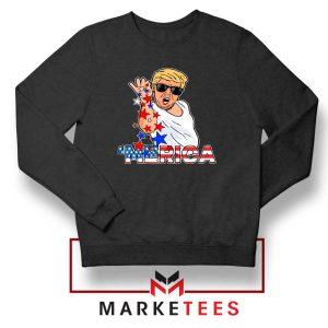 Donald Trump Parody Salt Bae Black Sweater