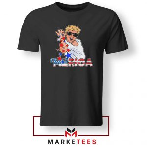 Donald Trump Parody Salt Bae Black Tshirt