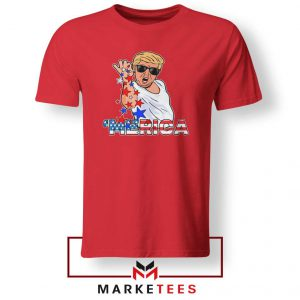 Donald Trump Parody Salt Bae Red Tshirt