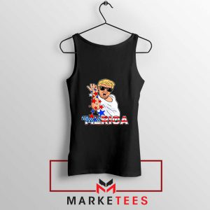 Donald Trump Parody Salt Bae Tank Top