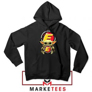 Estes Express Lines The Child Black Hoodie