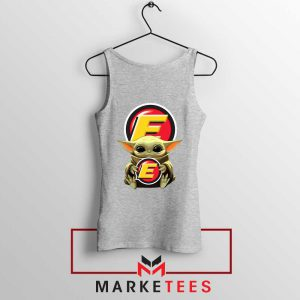 Estes Express Lines The Child Grey Tank Top