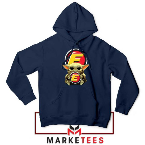Estes Express Lines The Child Navy Hoodie