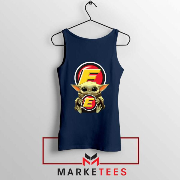 Estes Express Lines The Child Navy Tank Top