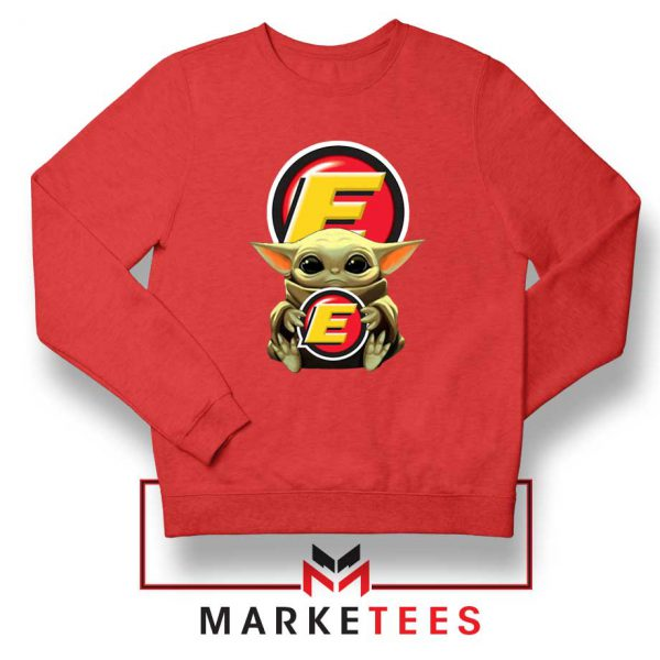 Estes Express Lines The Child Red Sweatshirt