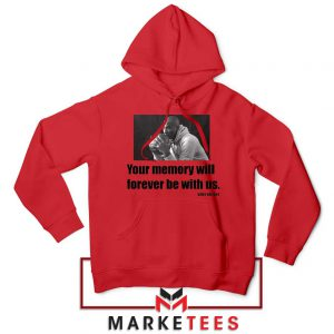 Forever Be With Us Kobe Bryant Red Hoodie