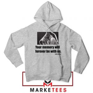 Forever Be With Us Kobe Bryant Sport Grey Hoodie