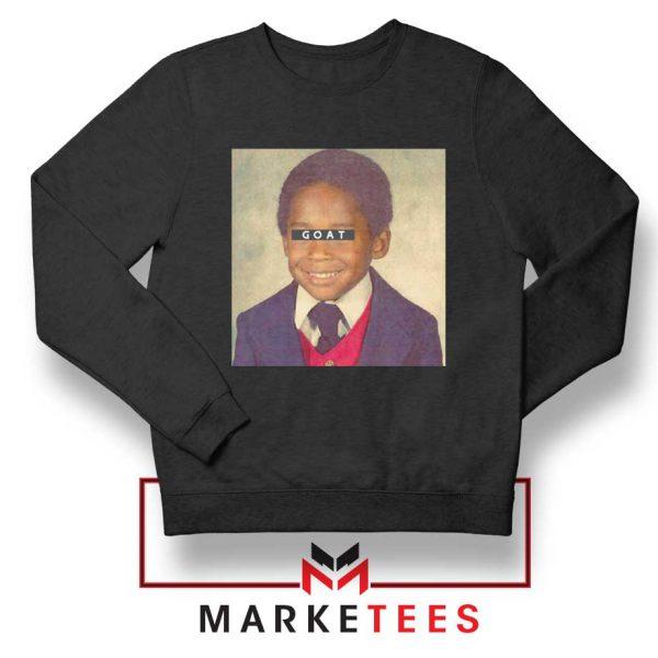 GOAT Kobe Bryant Black Sweatshirt