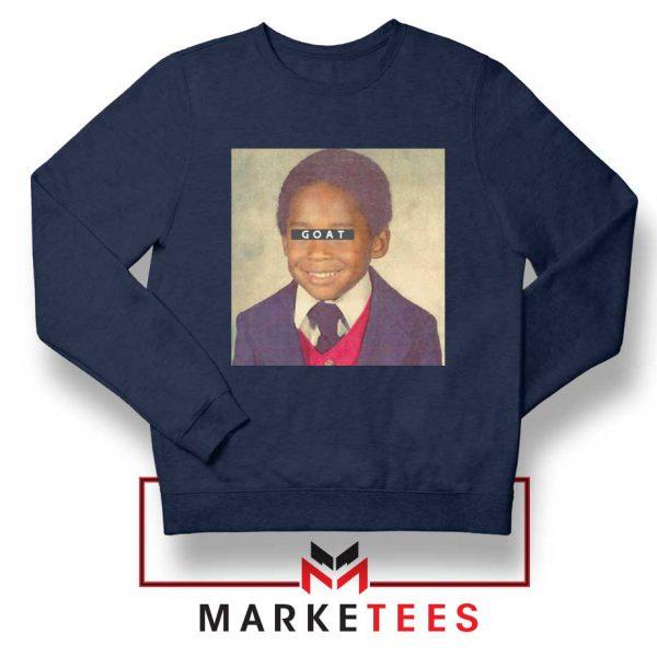 GOAT Kobe Bryant Navy Sweatshirt