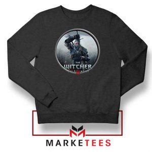 Geralt The Witcher 3 Wild Hunt Black Sweatshirt