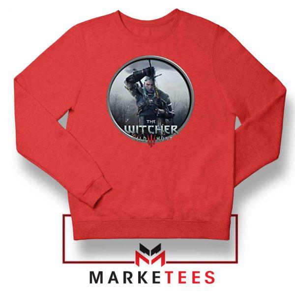 Geralt The Witcher 3 Wild Hunt Red Sweatshirt