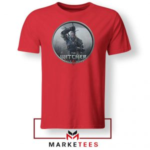 Geralt The Witcher 3 Wild Hunt Red Tee Shirt