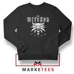 Geralt Toss A Coin Black Sweater