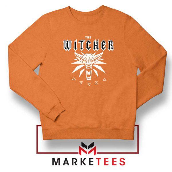 Geralt Toss A Coin Orange Sweater