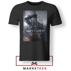 Geralt Witcher Wild Hunt Tshirt