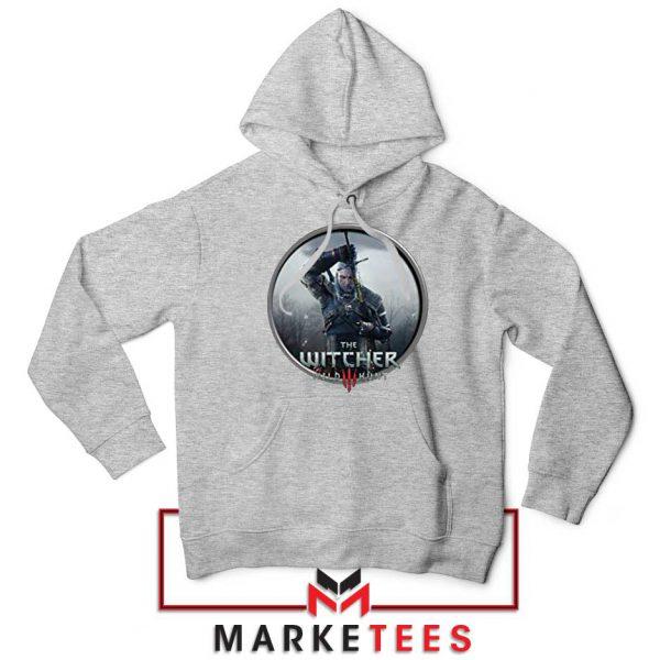 Geralt of Rivia Wild Hunt Grey Hoodie