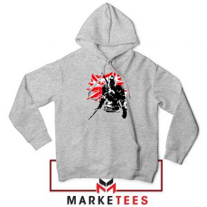 Geralt of Rivia Witcher 3 Grey Hoodie